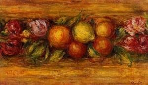 Pierre Auguste Renoir - Garland Of Fruit And Flowers