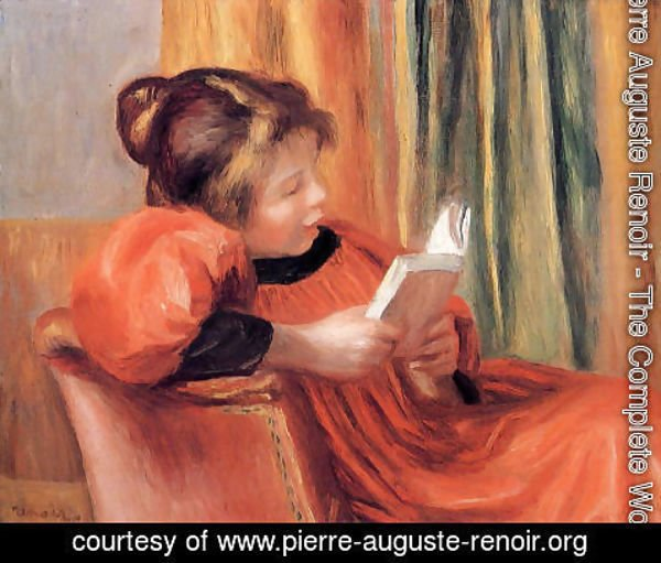 Pierre Auguste Renoir - Girl Reading