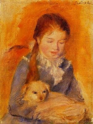Pierre Auguste Renoir - Girl With A Dog