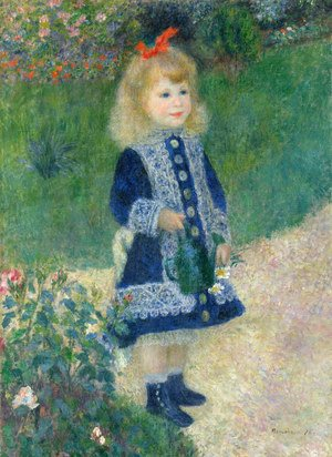 Pierre Auguste Renoir - Girl With A Watering Can