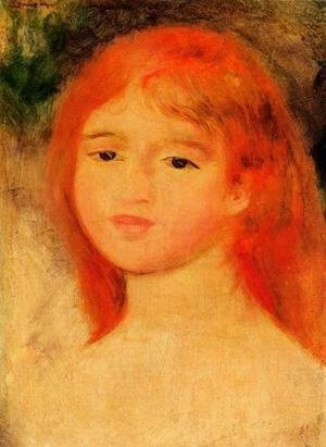 Pierre Auguste Renoir - Girl With Auburn Hair