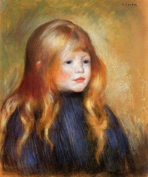 Pierre Auguste Renoir - Head Of A Child Aka Edmond Renoir