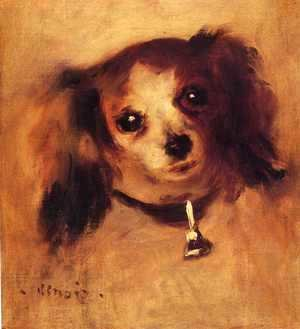 Pierre Auguste Renoir - Head Of A Dog