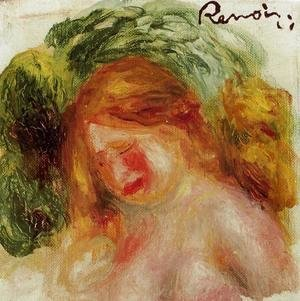 Pierre Auguste Renoir - Head Of A Woman2