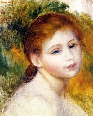 Pierre Auguste Renoir - Head Of A Woman3