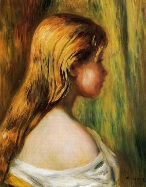Pierre Auguste Renoir - Head Of A Young Girl2