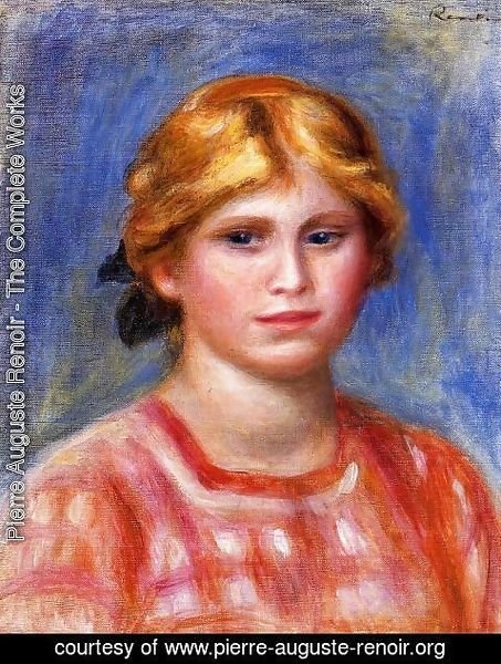 Pierre Auguste Renoir - Head Of A Young Girl3