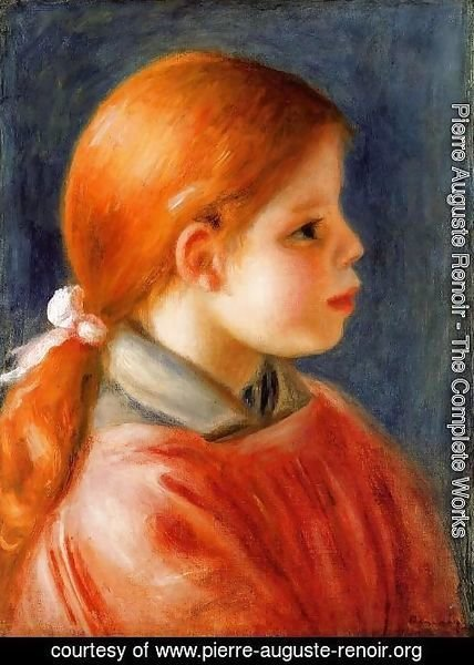 Pierre Auguste Renoir - Head Of A Young Woman5