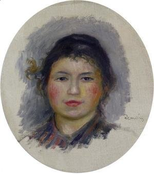Head Of A Young Woman7