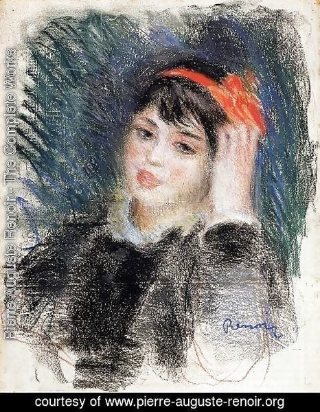 Pierre Auguste Renoir - Head Of A Young Woman 8