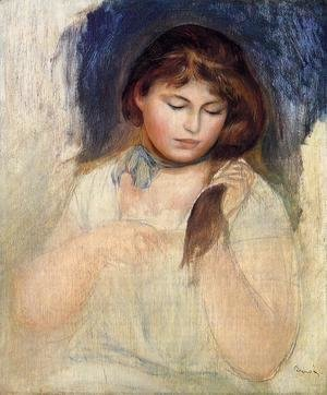 Pierre Auguste Renoir - Head Of Gabrielle