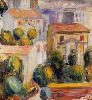 Pierre Auguste Renoir - House At Cagnes