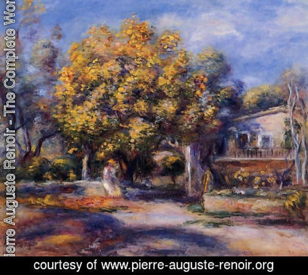 Pierre Auguste Renoir - Houses At Cagnes2