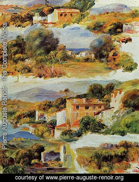 Pierre Auguste Renoir - Houses At Cagnes3
