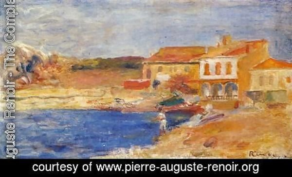 Pierre Auguste Renoir - Houses By The Sea