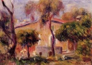 Pierre Auguste Renoir - Houses In Cagnes