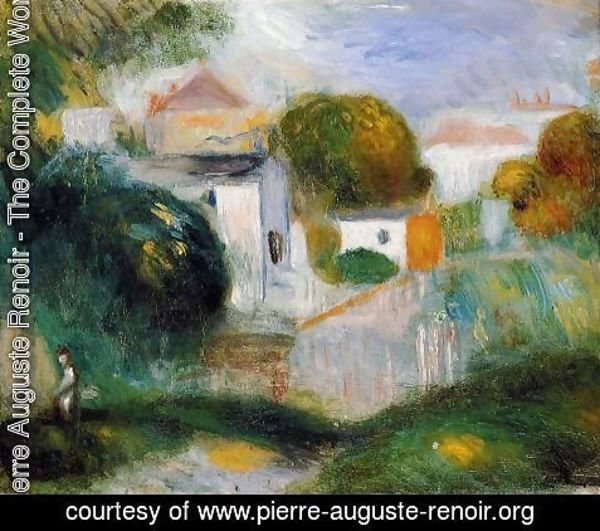 Pierre Auguste Renoir - Houses In The Trees