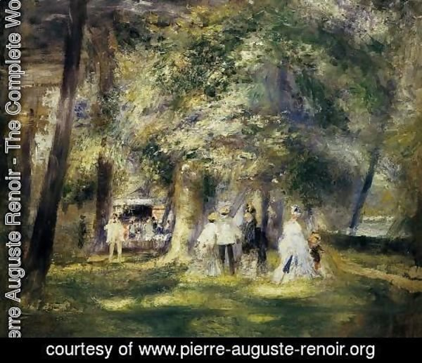 Pierre Auguste Renoir - In St Cloud Park