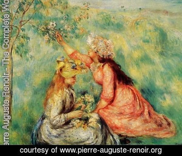 Pierre Auguste Renoir - In The Fields