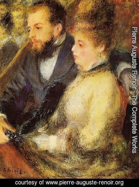 Pierre Auguste Renoir - In The Loge