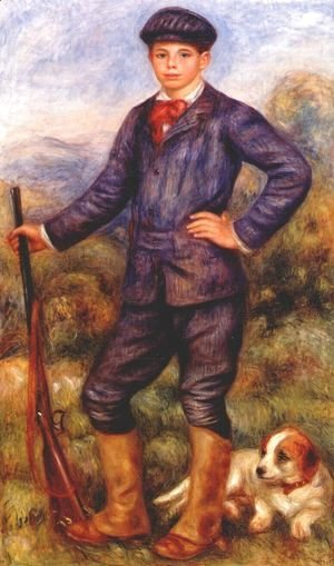 Pierre Auguste Renoir - Jean Renoir As A Hunter