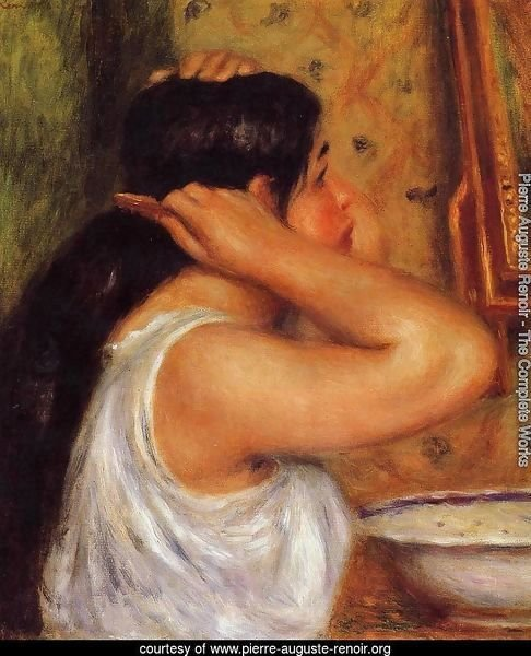 La Toilette   Woman Combing Her Hair
