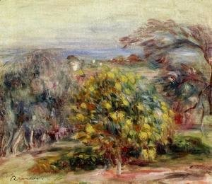 Pierre Auguste Renoir - Landscape At Collettes