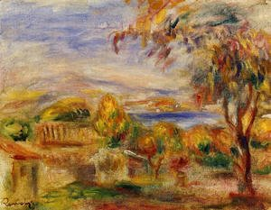Pierre Auguste Renoir - Landscape By The Sea