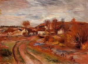 Pierre Auguste Renoir - Landscape In Normandy
