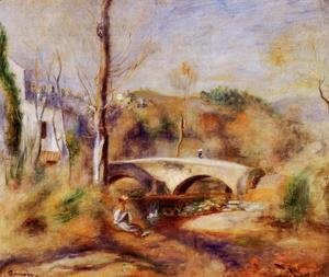 Pierre Auguste Renoir - Landscape With Bridge2