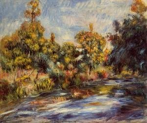 Pierre Auguste Renoir - Landscape With River