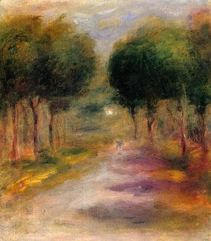 Pierre Auguste Renoir - Landscape With Trees