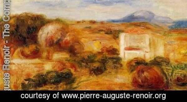 Pierre Auguste Renoir - Landscape With White House