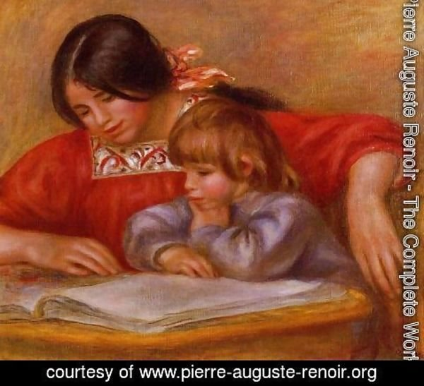Pierre Auguste Renoir - Leontine And Coco