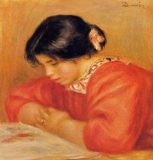 Pierre Auguste Renoir - Leontine Reading 2