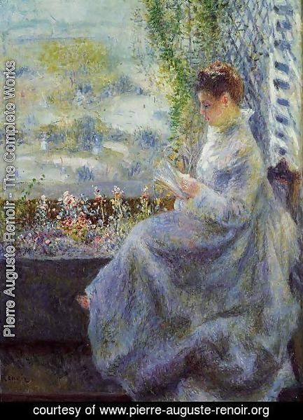 Pierre Auguste Renoir - Madame Chocquet Reading