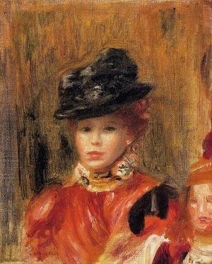 Pierre Auguste Renoir - Madame Le Brun And Her Daughter