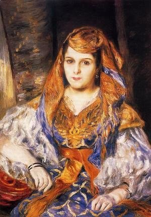 Madame Stora In Algerian Dress