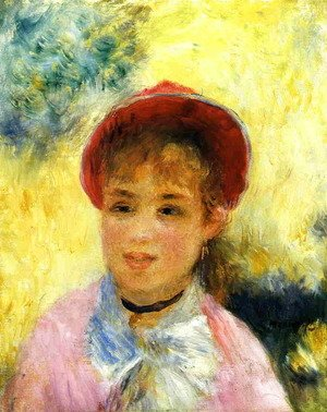 Pierre Auguste Renoir - Modele From The Moulin De La Galette