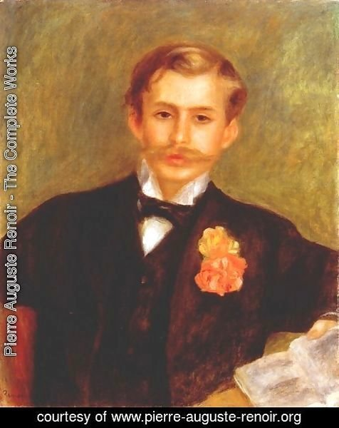 Pierre Auguste Renoir - Monsieur Germain