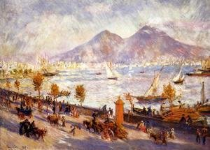 Pierre Auguste Renoir - Mount Vesuvius In The Morning