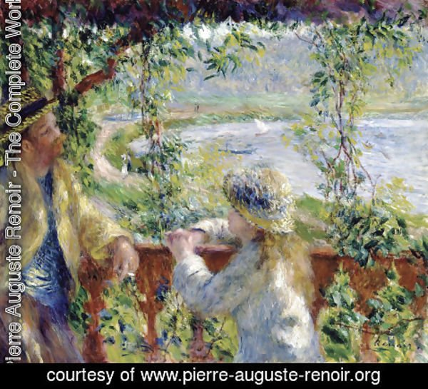 Pierre Auguste Renoir - Near The Lake