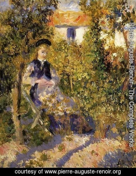Pierre Auguste Renoir - Nini In The Garden