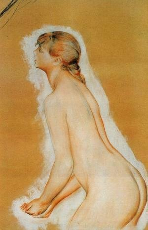 Pierre Auguste Renoir - Nude Aka Study For The Large Bathers