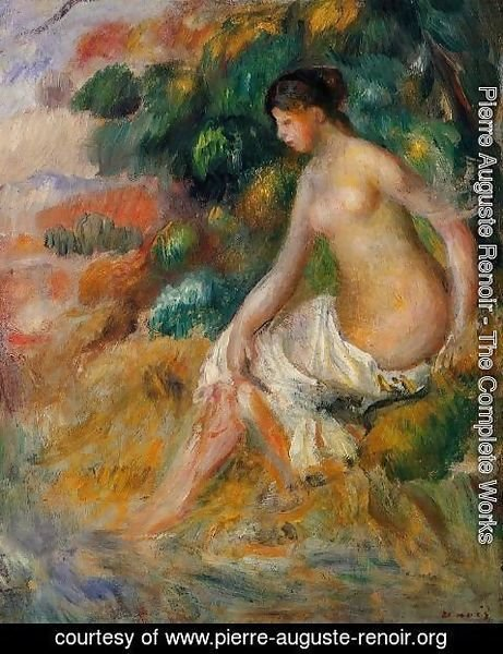 Pierre Auguste Renoir - Nude In The Greenery