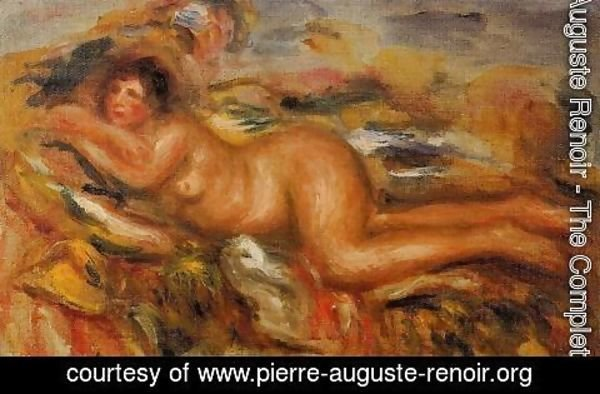 Pierre Auguste Renoir - Nude On The Grass