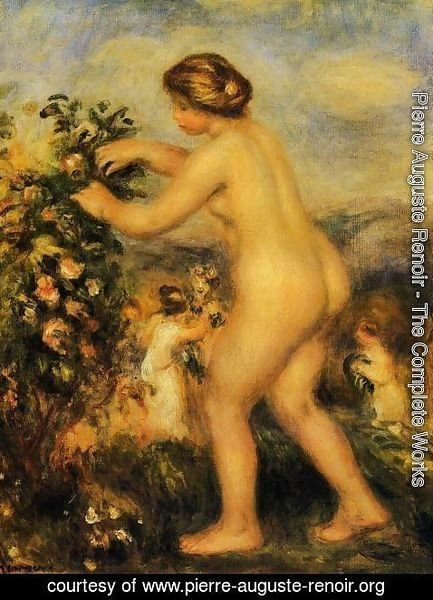 Pierre Auguste Renoir - Ode To Flowers (after Anacreon)