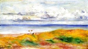 Pierre Auguste Renoir - On A Cliff