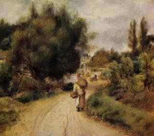 Pierre Auguste Renoir - On The Banks Of The River