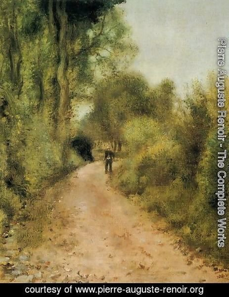 Pierre Auguste Renoir - On The Path